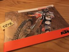 KTM offroad 2005 EXC 525 400 250 125 200 300 , 640 LC4 625 SXC moto prospectus
