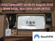 LEDE OpenWRT 18.06.2 Unlocked Plusnet One hub BT fibre wireless IPTV unblock VPN