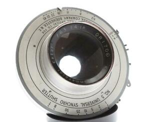 "Kodak Commercial Ektar 14"" F/6.3 8x10 Lens"