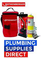 Rothenberger Hot Bag Superfire 2 Torch Mapp Gas & Heat Guard -  Soldering