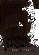 Hammer Horror Series 2 Sketch Card drawn by Rich Molinelli /1