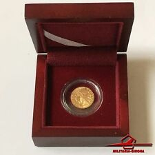 2000 Republic of Liberia 10 Dollar Gold Coin. Indian Head Eagle. With box.