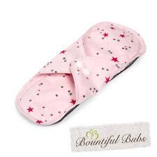Washable Cloth Pads-Small, Menstrual, Incontinence Pads, Bamboo