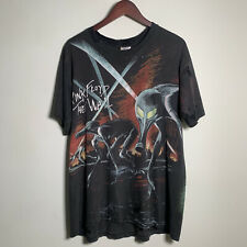 vintage Rare Pink Floyd The Wall All Over Print 90s T Shirt santana sonic youth