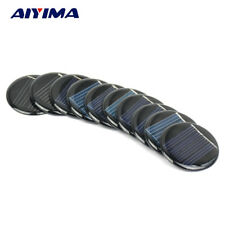 Aiyima 10Pcs Solar Panel Solar Cell Sun Power Charging DIY Battery