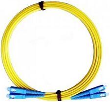 Patchcord duplex SC-SC SM 3.0mm yellow LSZH 15m