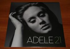 ADELE 21 SOMEONE LIKE YOU LP VINYL *LTD* XL RECORDINGS EU 1st PRESS 2011 New