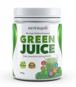 MORINGAFI Green Juice Daily &Superfood Juicing Powder
