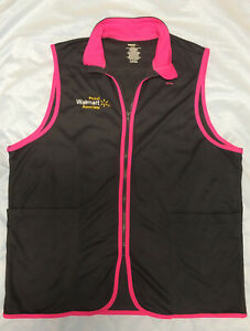 Pink Edge Spark Limited Edition Walmart Associate Mock Vest Large Free Shipping