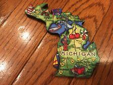 Michigan Frigo Calamita ~ Showcase città, percorsi, i simboli