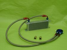 Burstflow Universal Nachrüstsatz Kit Ölkühler 13 Reihen AN8 passend für AUDI VW