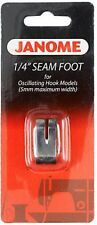 Janome 1/4 Inch Seam Foot for Front Loading Machines (5mm) - O Foot, Quilting