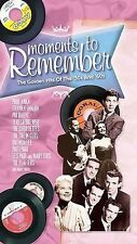 'Moments To Remember  Golden Hits 50's and 60's' 3-CD BOX SET SEALED