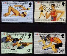 Isle of Man 1986 Commonwealth Games SG 306-9 CTO/FU