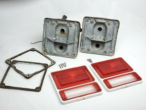 71-83 CHEVY / GMC  HIPPIE VAN G10 G20 G30 VINTAGE TAILLIGHTS GUIDEX ORIGINAL