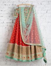 Lehenga Lengha Choli Chunri Saree Sari Attractive Ghagra Maxi Saree sari New