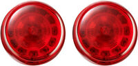 Custom Dynamics ProBEAM LED Red Turn Signal Inserts Bullet Style 1157 PB-R-1157