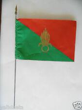 LEGION ETRANGERE : PETIT FANION SOUVENIR ANNEES 60/  little foreign legion flag