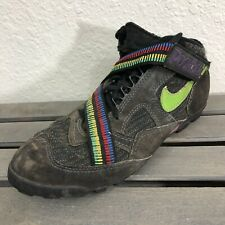 Vintage Nike Poohbah Mountain Biking Shoes Sz Men's 9 Black Cleat