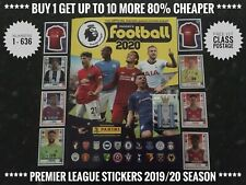 Panini's Football 2020 Premier League Stickers, No.434-636, Free Post, Genuine