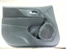 OEM 15 16 Jeep Renegade Left Driver Front Door Panel Limited Latitude Black