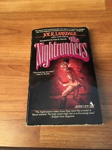 The Nightrunners Book by Joe R Lansdale Paperback 1989