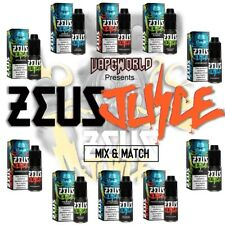 zeus juice 10ml - 50/50 VG/PG - Premium Vape Juice 3mg 6mg 12mg All Flavors
