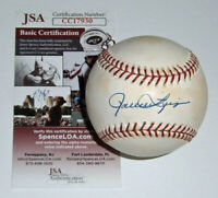 BREWERS Rollie Fingers signed baseball JSA COA AUTO Autographed Milwaukee HOFer