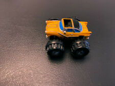 MICRO MACHINES MONSTER TRUCK GALOOB YELLOW CAR