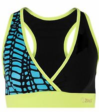 ZUMBA FITNESS DANCE RACERBACK TOP V Sports BRA fr.Convention Sz. Extra Small XS