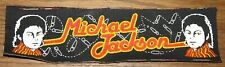 MICHAEL JACKSON CIRCA 1983 ORIGINAL VINTAGE MATERIAL SEWING SEW IRON ON PATCH