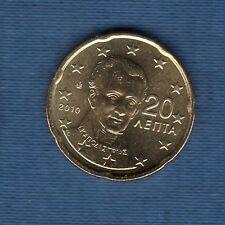 Gréce - 2010 - 20 centimes d'euro - Pièce neuve de rouleau -