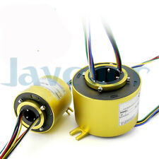5-60mm Hole 6/12 Wire 2/5/10A 250Rpm Capsule Slip Ring Monitor Robotic Metal