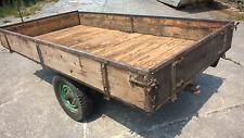 Wagen Holzwagen Anhänger Einachser klein und wendig