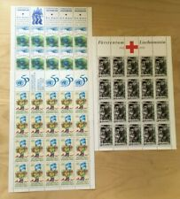SPECIAL LOT Liechtenstein 1995 1045-7 - Anniv. & Events - 20 Sets of 3v - MNH