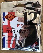 Rotosound Silver 12-56 Guitar Strings