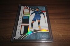2017 IMMACULATE SOCCER ENZO PEREZ HAT TRICK MATERIALS TRIPLE JERSEY PATCH /25