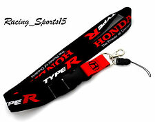 For HONDA CIVIC TYPE R S2000 INTEGRA DC5 EK Lanyard Keychain Quick Release -JDM