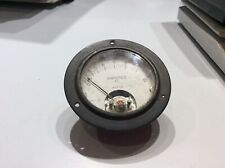 Vintage WESTON AMPERES RF Antenna Current Meter Gauge 0-5 Model 425 US NAVY TYPE