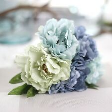 5Heads Artificial Peony Fake Flower Bridal Hydrangea Home Wedding Garden Party
