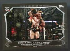 2015 Topps WWE Undisputed SHEAMUS VS. RYBACK SP PARALLEL #74/99