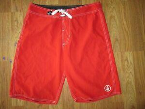 Mens VOLCOM swim shorts bathing suit trunks sz 30 boardshorts