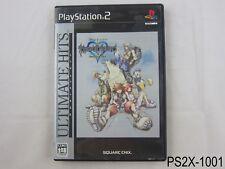 Kingdom Hearts Final Mix PS2 Japanese Import Ult Hits Playstation 2 US Seller B