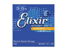 Elixir Nanoweb Mediano 11-49 Cuerdas Guitarra eléctrica (Nuevo)