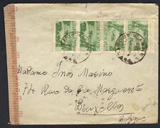 GREECE 1924-43 THREE COVERS INCLUDING IONIA CORFU BANK COVER CENSORED TO BELGIUM