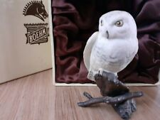 More details for boehm solid owl miniature ornament in box