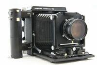 Exc++ Topcon Horseman VH Medium Format Film Camera w/TOPCOR PT 180mm F5.6 #2187