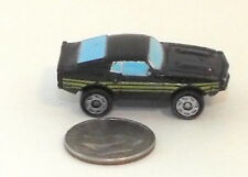 Small Micro Machine Plastic 1969 Ford Mustang in Black
