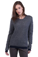 MONCLER Jumper Size M Mohair & Wool Blend Medium Knit Crew Neck RRP €319