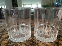Spiegelau Crystal Rock Glass Double Old Fashioned Glass 12.5 oz unused SET OF 2